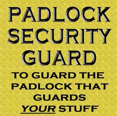 Padlock Guard